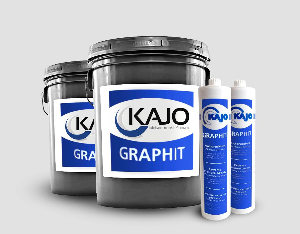 Hoochdruckfett-Graphit-tanque